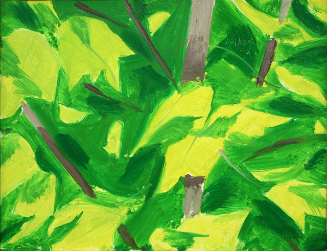 """Foliage"" (2008) by Alex Katz"