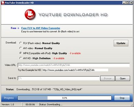 Download YouTube Downloader HD 2.9.9.28 Portable