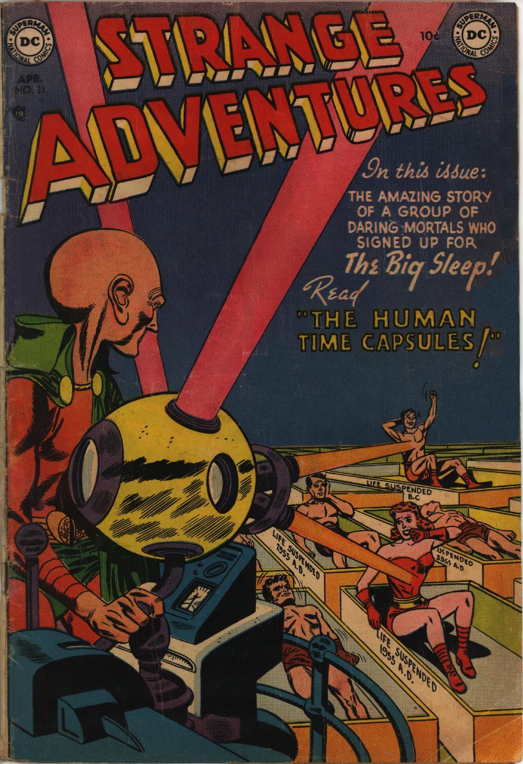 Strange Adventures (1950) issue 31 - Page 1