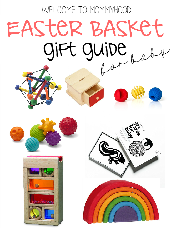 Montessori baby toy recommendations by Welcome to Mommyhood #montessori, #montessoribaby, #montessorigiftguide