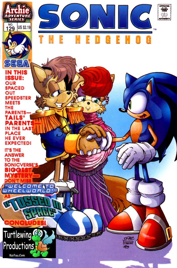 Read online Sonic The Hedgehog comic -  Issue #129 - 1