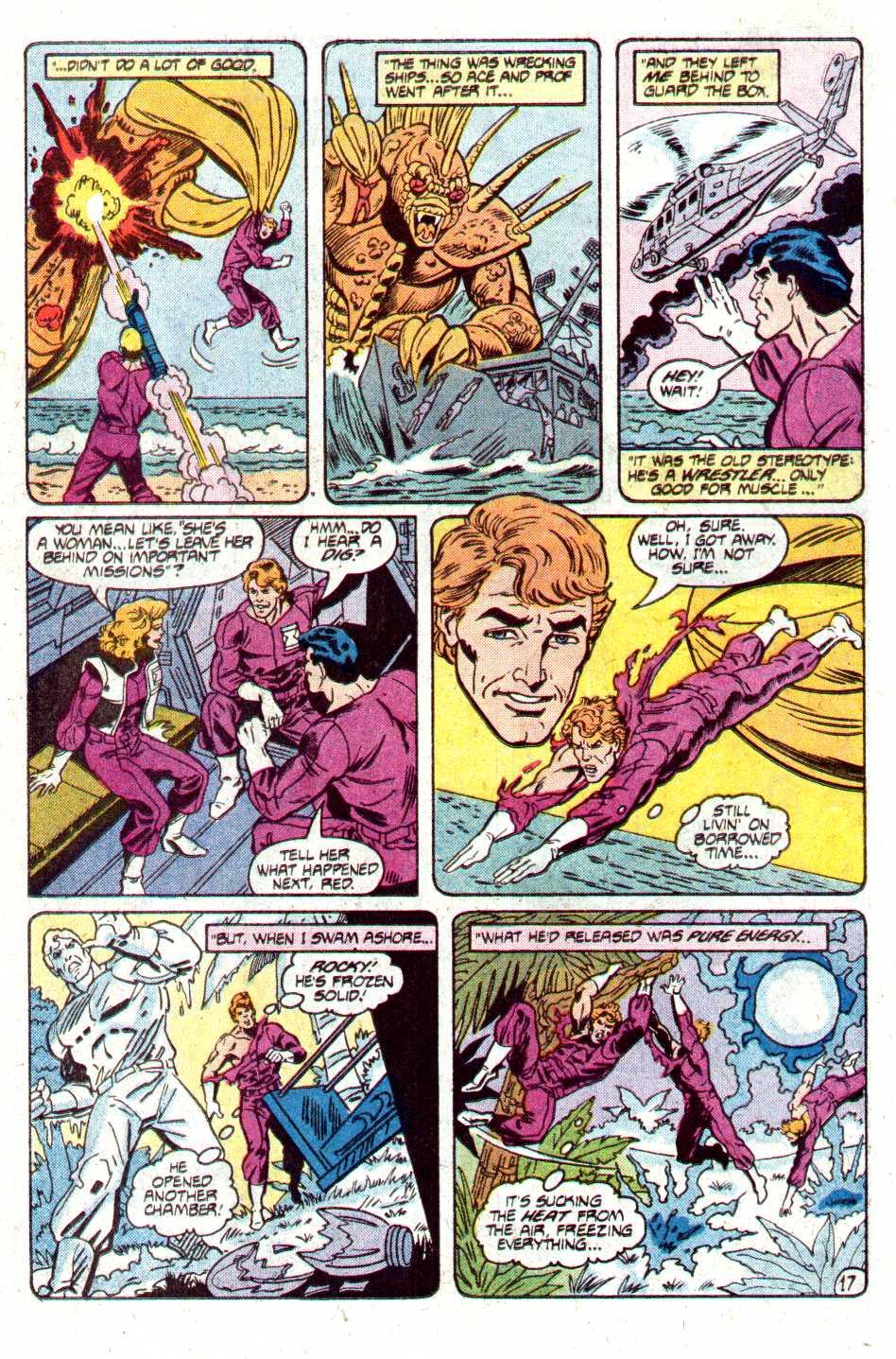 Read online Secret Origins (1986) comic -  Issue #12 - 36