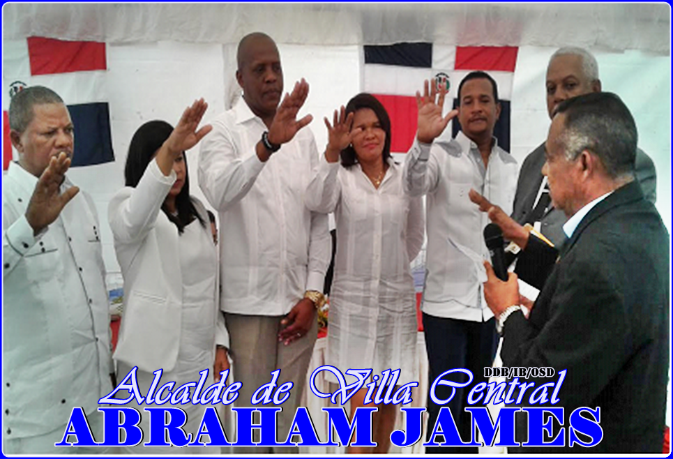 ABRAHAM JAMES, ALCALDE DE VILLA CENTRAL 2016-2020