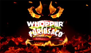 Whooper Furiosaço da Burger King