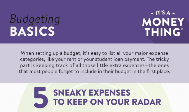 5 Sneaky Expenses To Keep On Your Radar