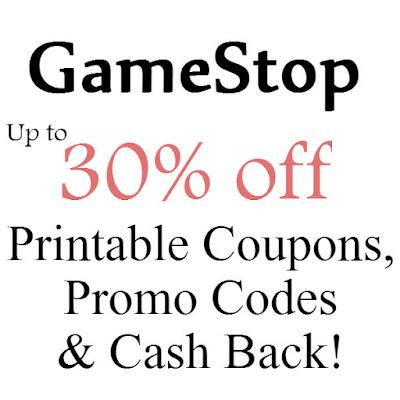 GameStop Printable Coupon January 2016, February 2016