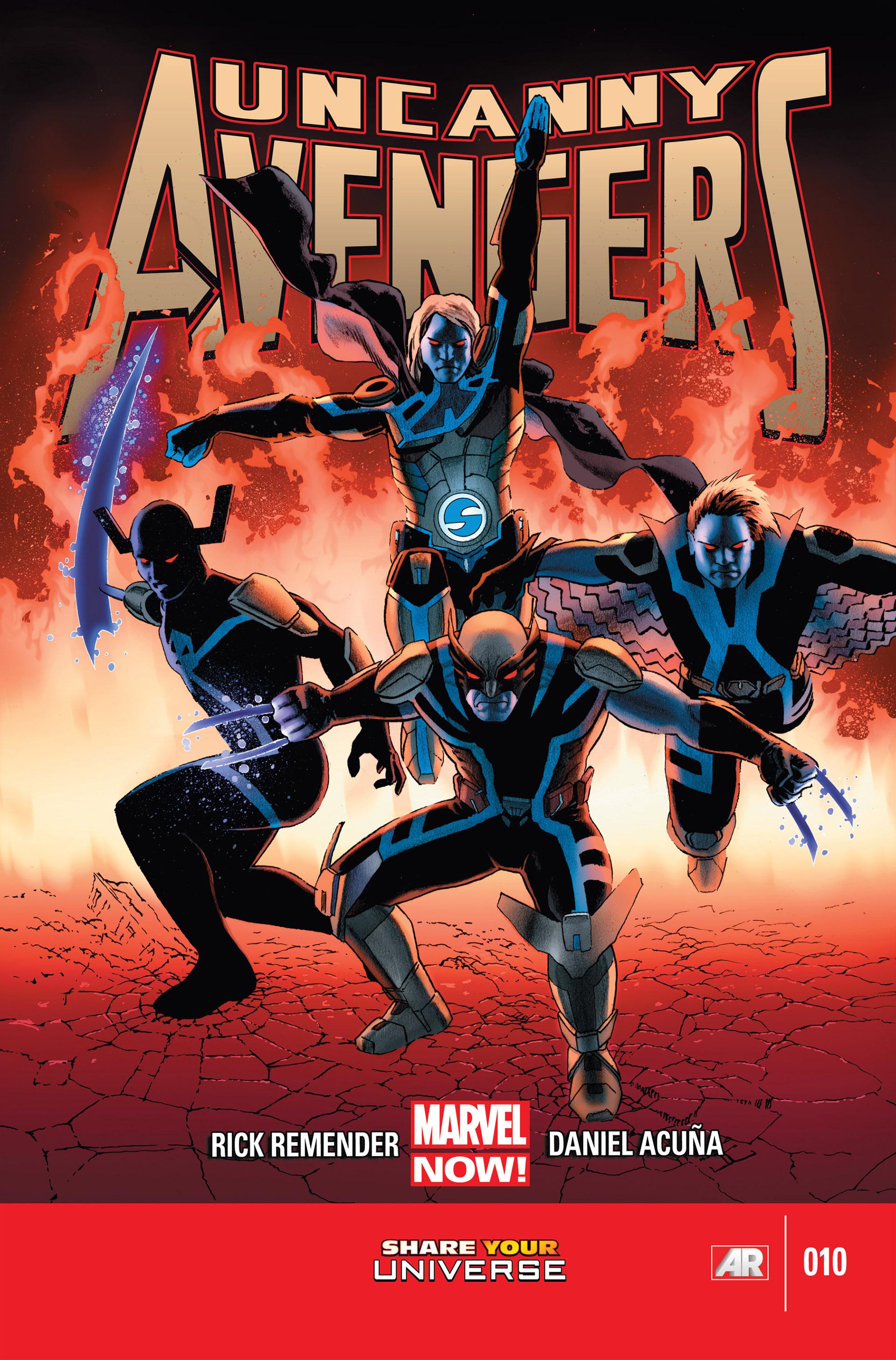 Read online Uncanny Avengers (2012) comic -  Issue #10 - 1
