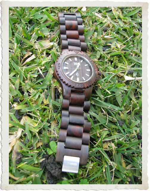 orologio date wewood chocolate