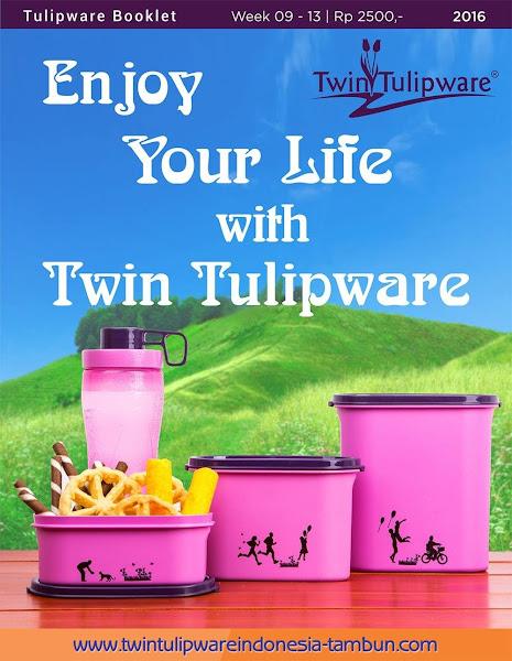 Booklet - Katalog Twin Tulipware Maret 2016