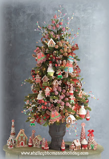 decorated Christmas tree photo