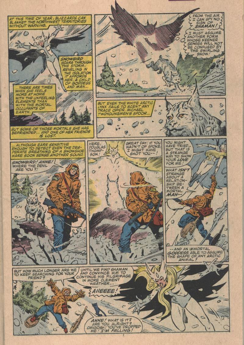 Read online Alpha Flight (1983) comic -  Issue #31 - 8