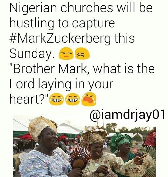 Check out some hilarious memes on Mark Zuckerberg's Nigerian visit