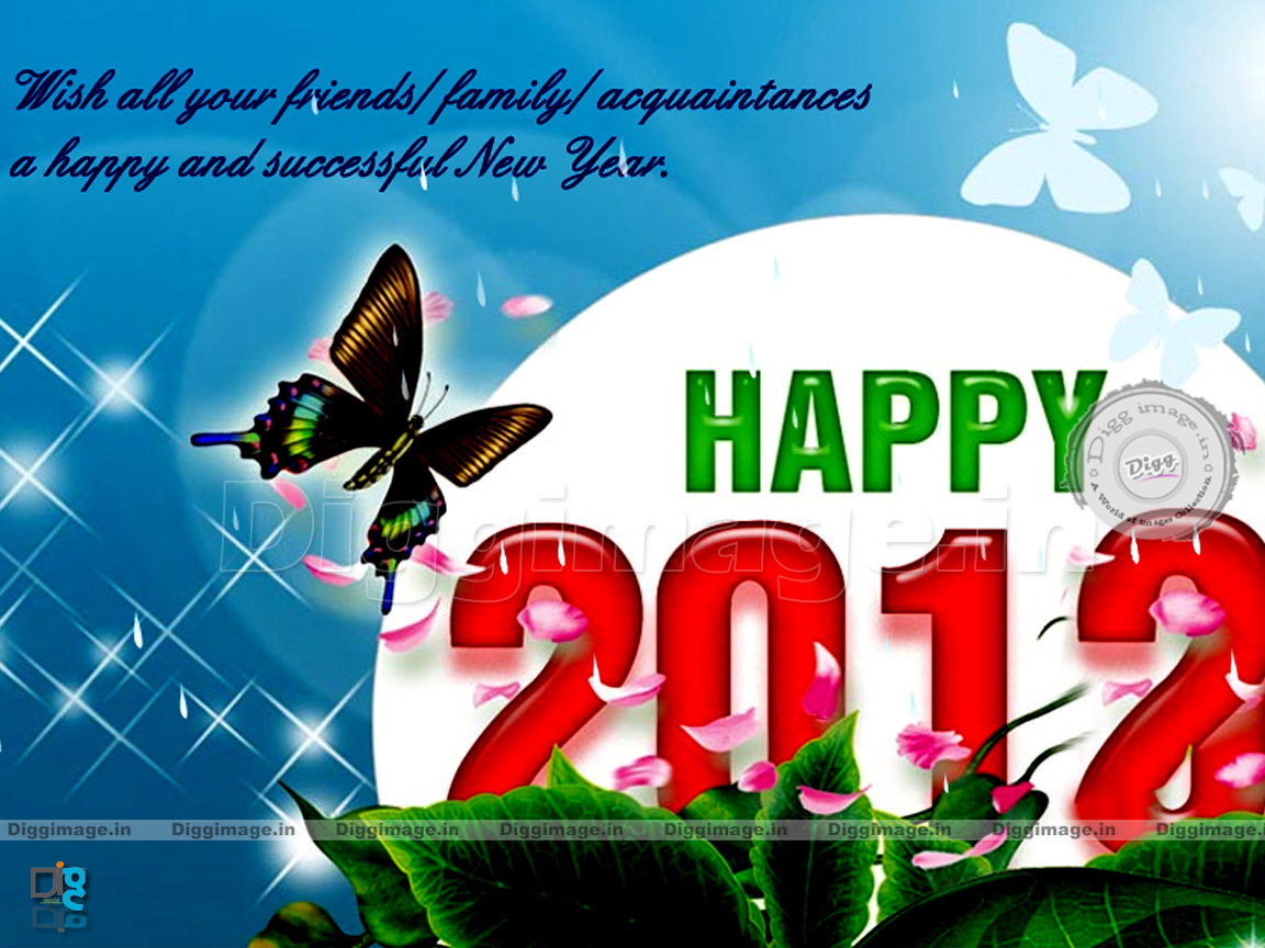 friends family acquaintances a happy and successful new year 2012. 1152 x 864.God Bless Happy New Year Graphics Comments