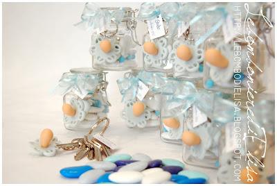 bomboniere nascita vasetti vetro