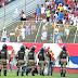 Atacante do Bahia agredido vai à polícia após confusão no BaVi