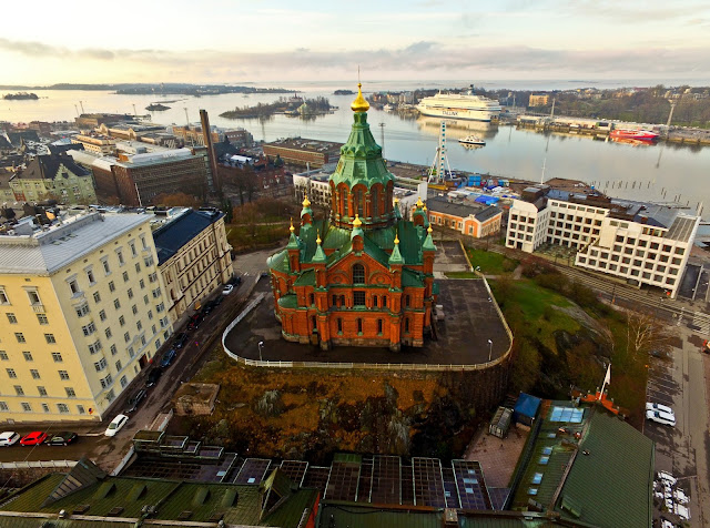 Drone Namibia in Helsinki, Finland - aerial photos
