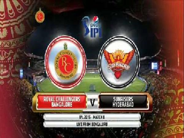 Match 1: SRH Vs RCB