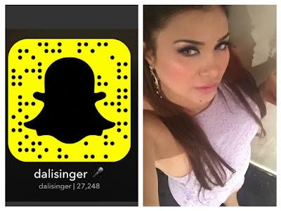سناب دالي العراقيه (Dali Singer snapchat)