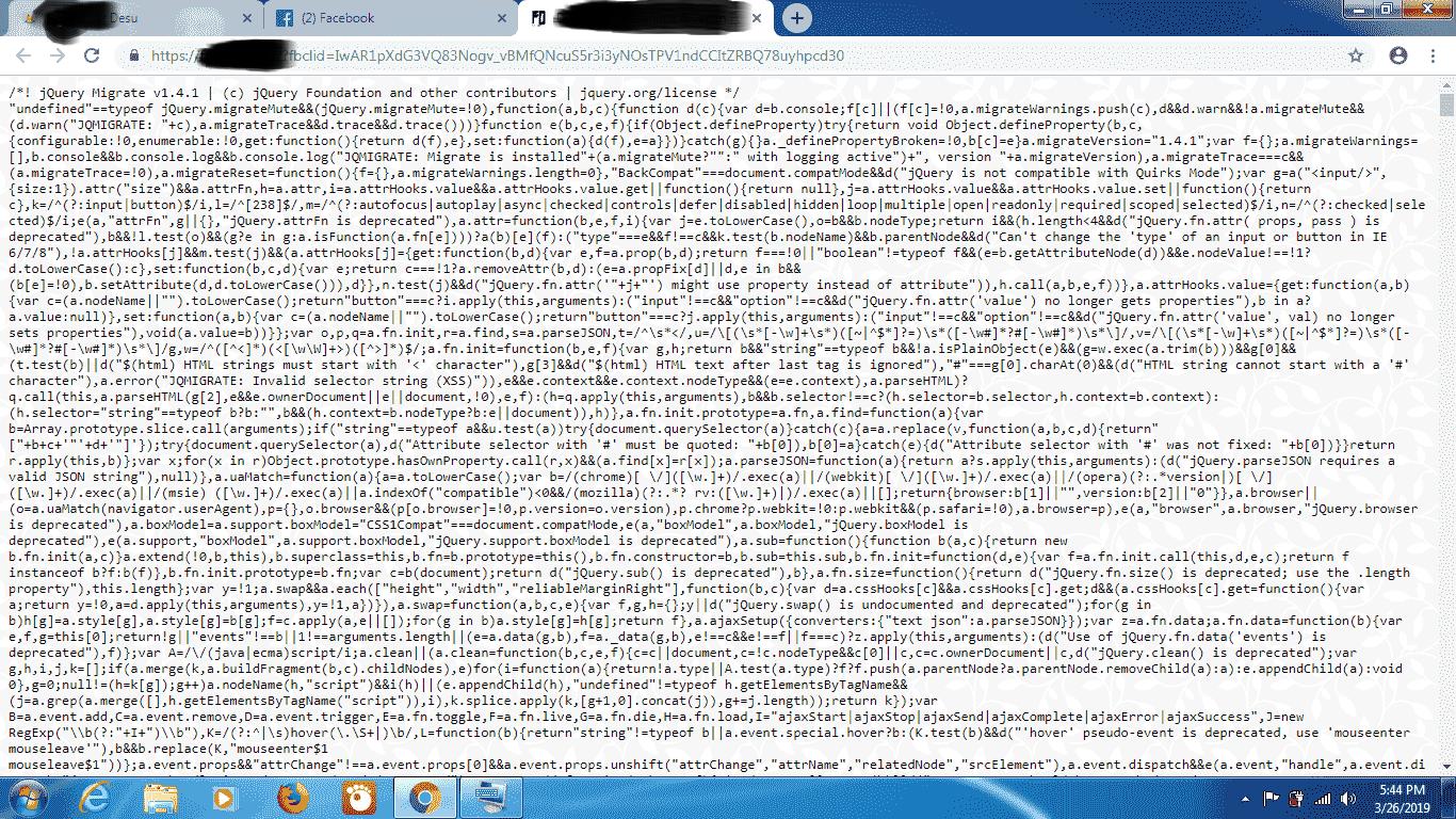 Biasanya permasalahan website anda yang otomatis redirect ke script query itu hal yang lumrah dan sudah banyak yang terjadi kepada developers website