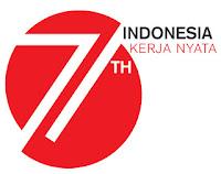 Logo HUT Ke 71 Indonesia