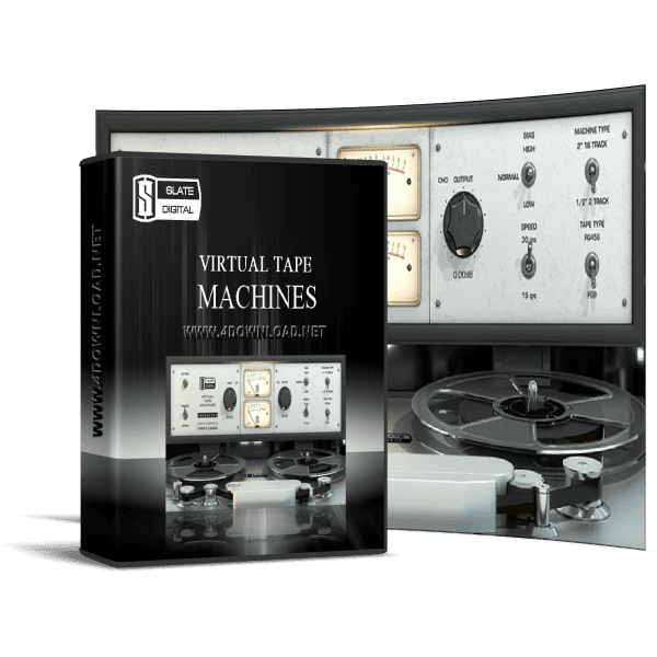 Slate Digital - Virtual Tape Machines v1.1.9.9 Full version