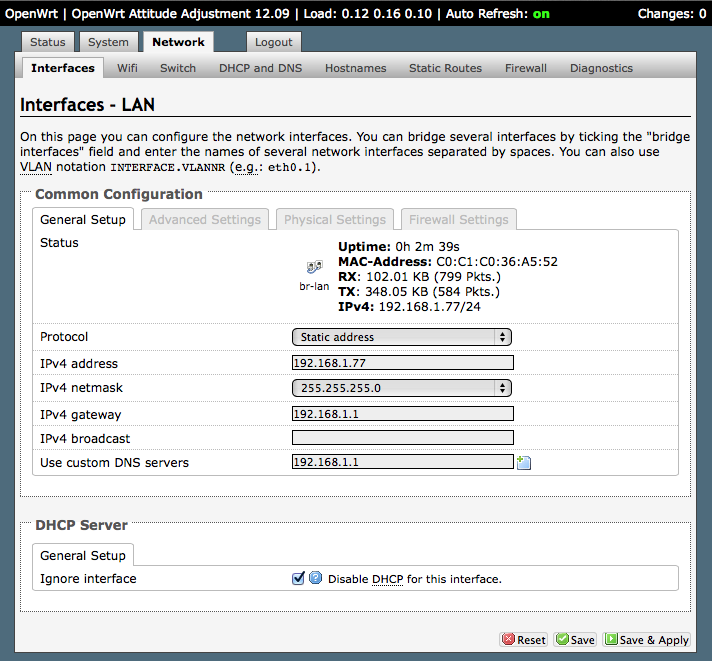 Arne's Blog: How to setup an OpenWRT router as a WiFi bridge to an