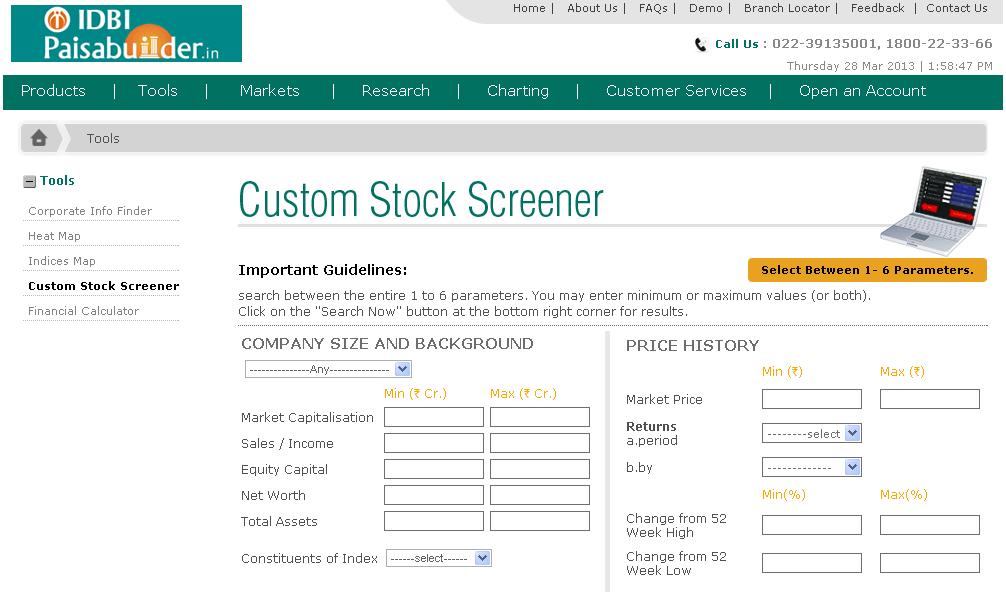 Stock screener india best : Stock market dividend aristocrats