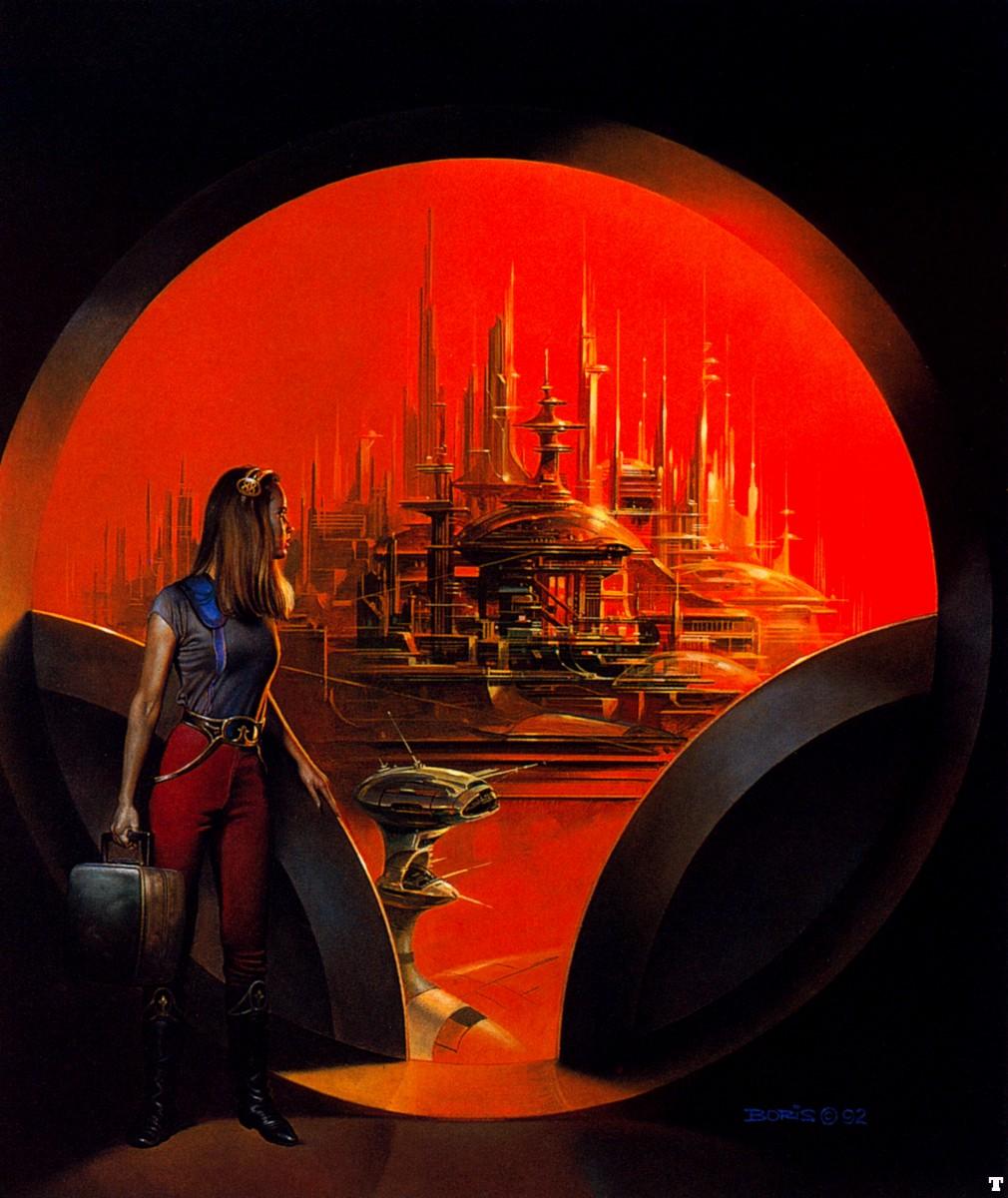 Pixel Atômico: Classic Sci Fi Illustrations #8 Boris Vallejo