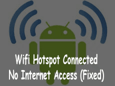 hotspot not connecting to laptop android