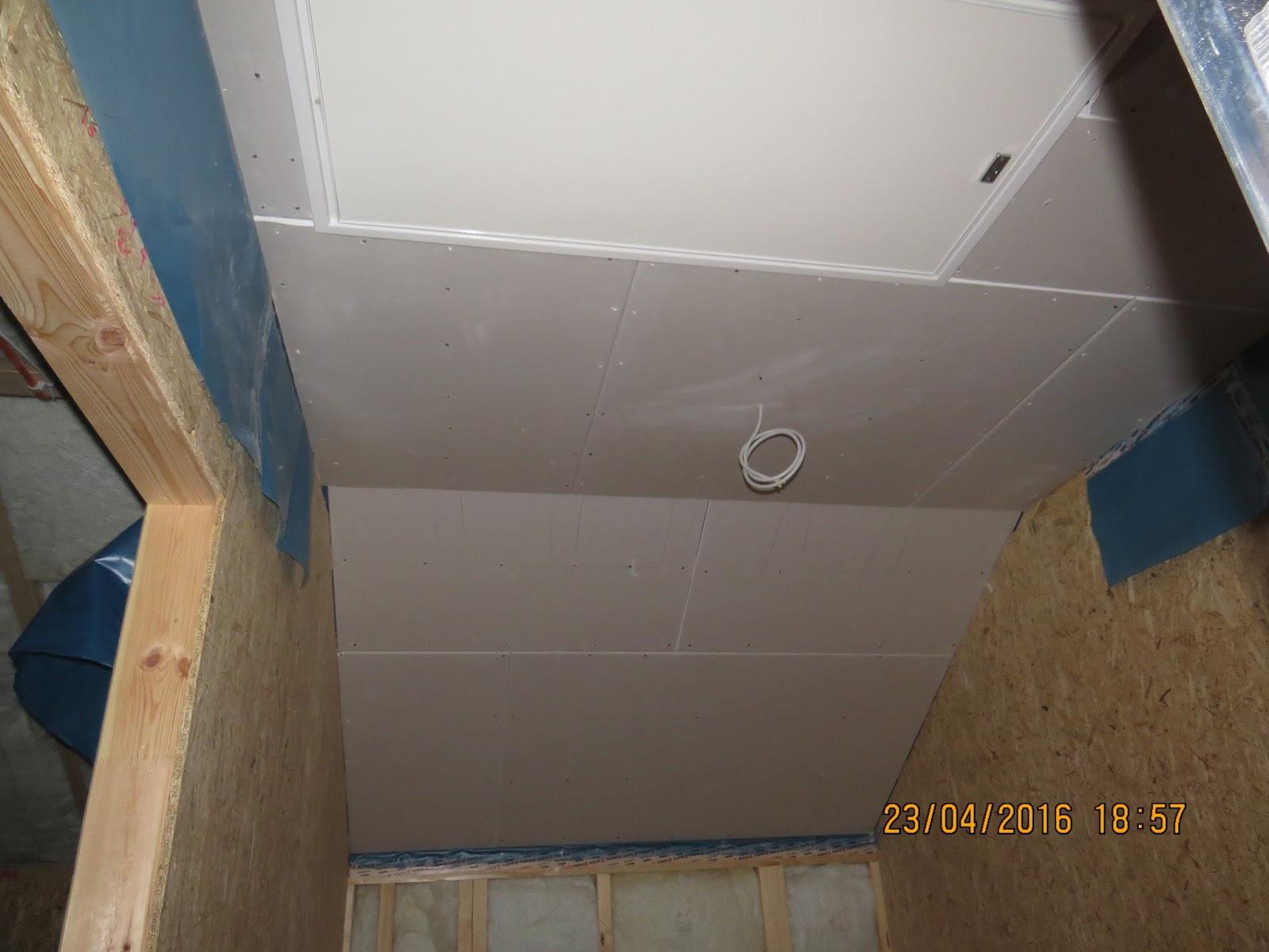 Unser Traumhaus Dachbodentreppe Osb