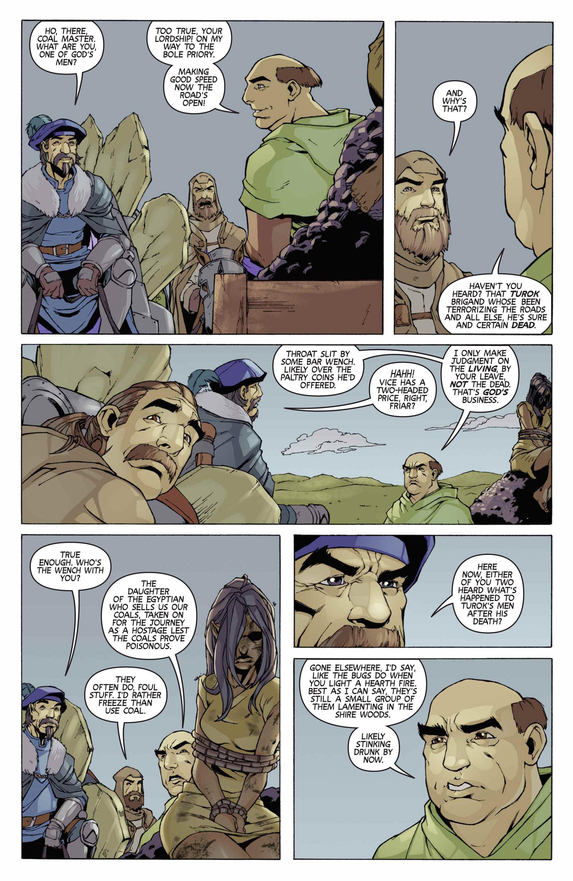 Read online Turok: Dinosaur Hunter (2014) comic -  Issue # _TPB 3 - 75