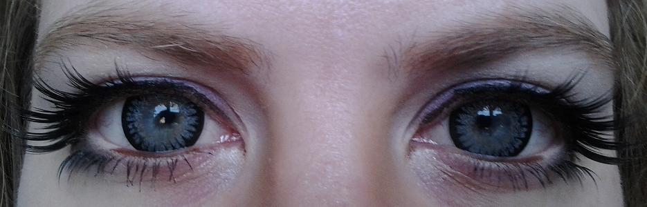 irriterade ögon av linser