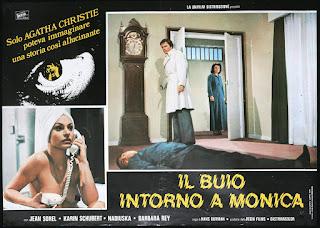 Cartel de: La muerte ronda a Mónica (1976)