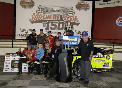 Preece Prevails, Myers Captures Title #nascar