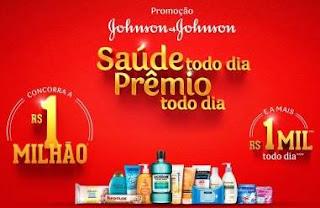 Cadastrar Promoção Johnso & Johnsaon 2018 Saúde Todo Dia 1 Milhão Reais