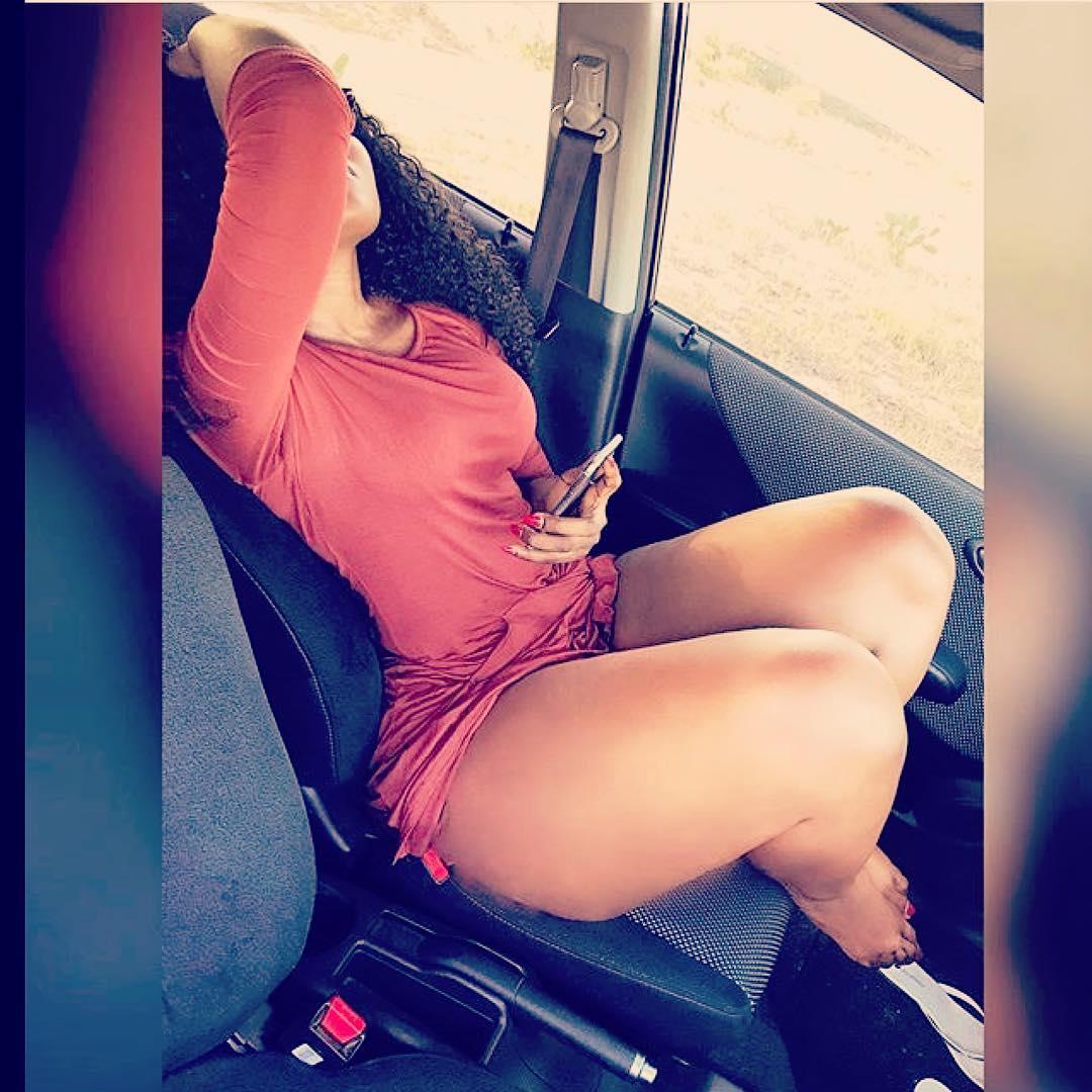 Sanchoka in a Car