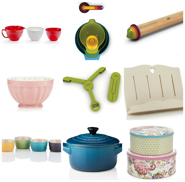 Pictures of everything on my kitchenware wishlist