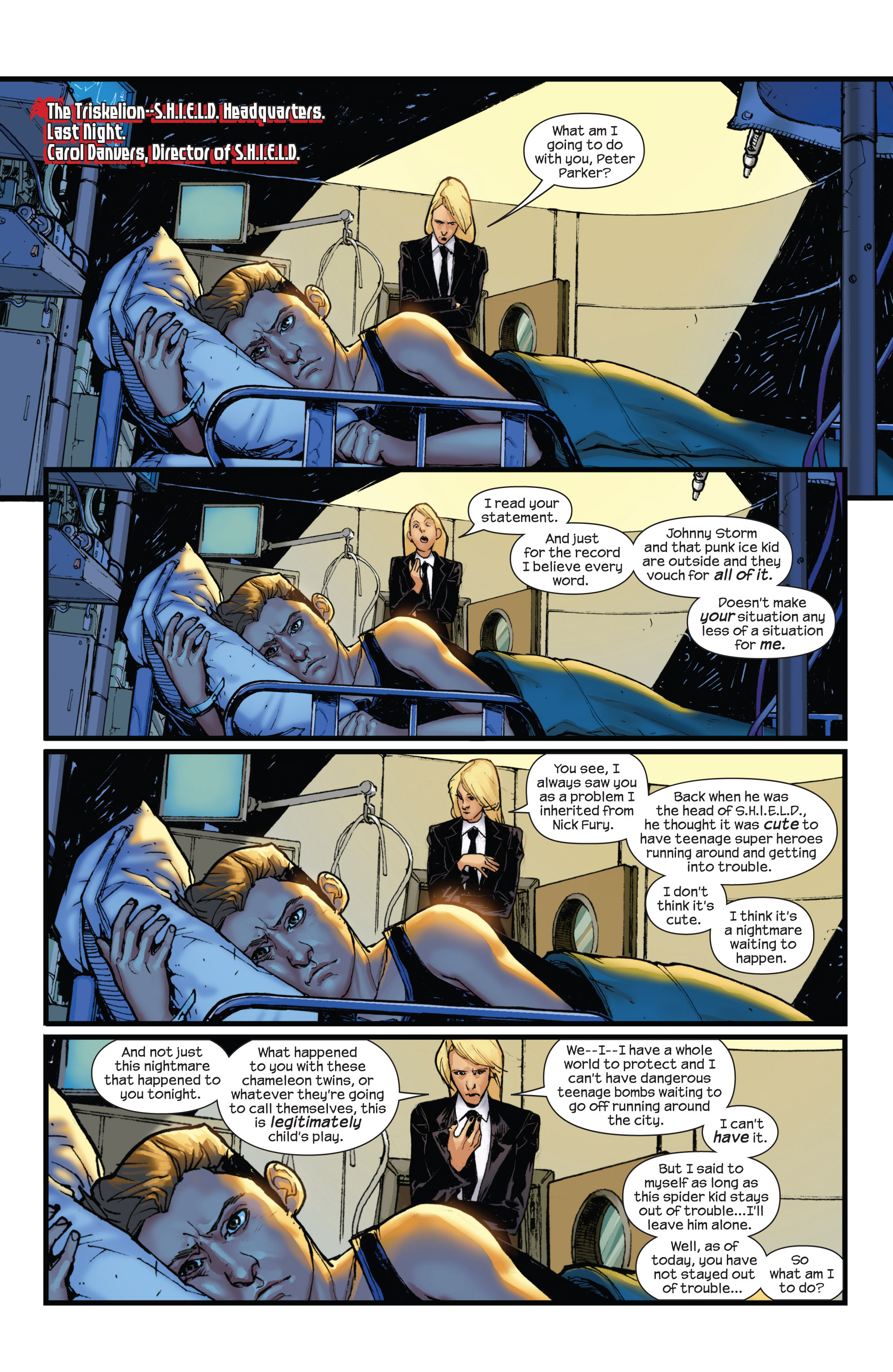 Read online Ultimate Spider-Man (2009) comic -  Issue #15 - 3