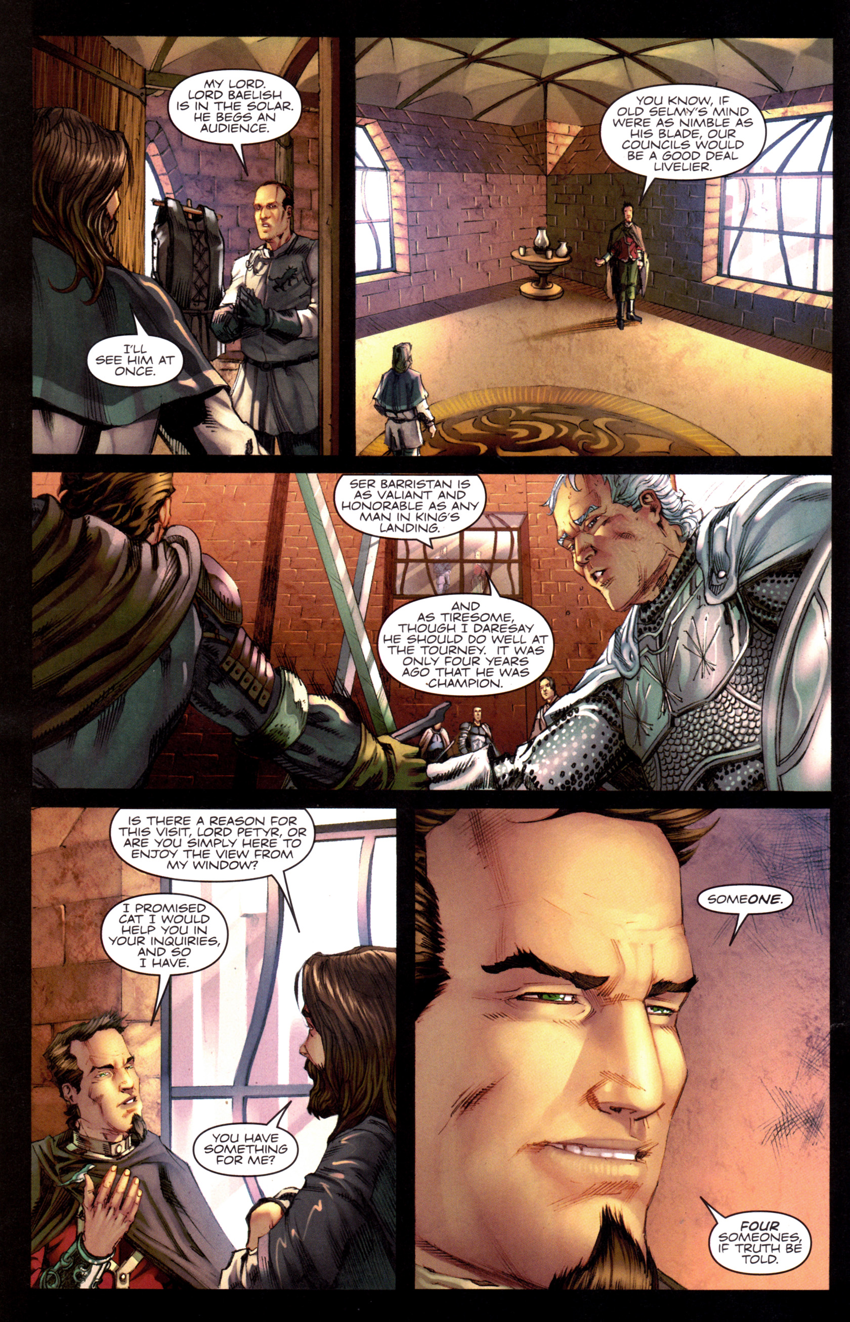 Read online A Game Of Thrones comic -  Issue #8 - 8