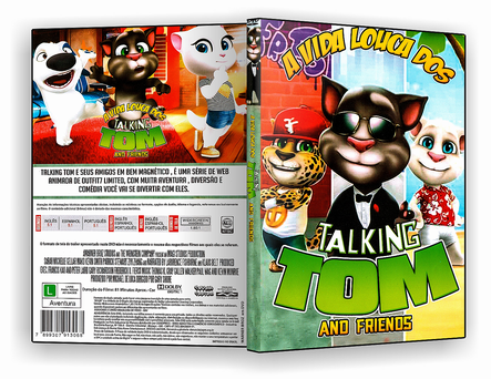 CAPA DVD – Talking Tom And Friends – ISO