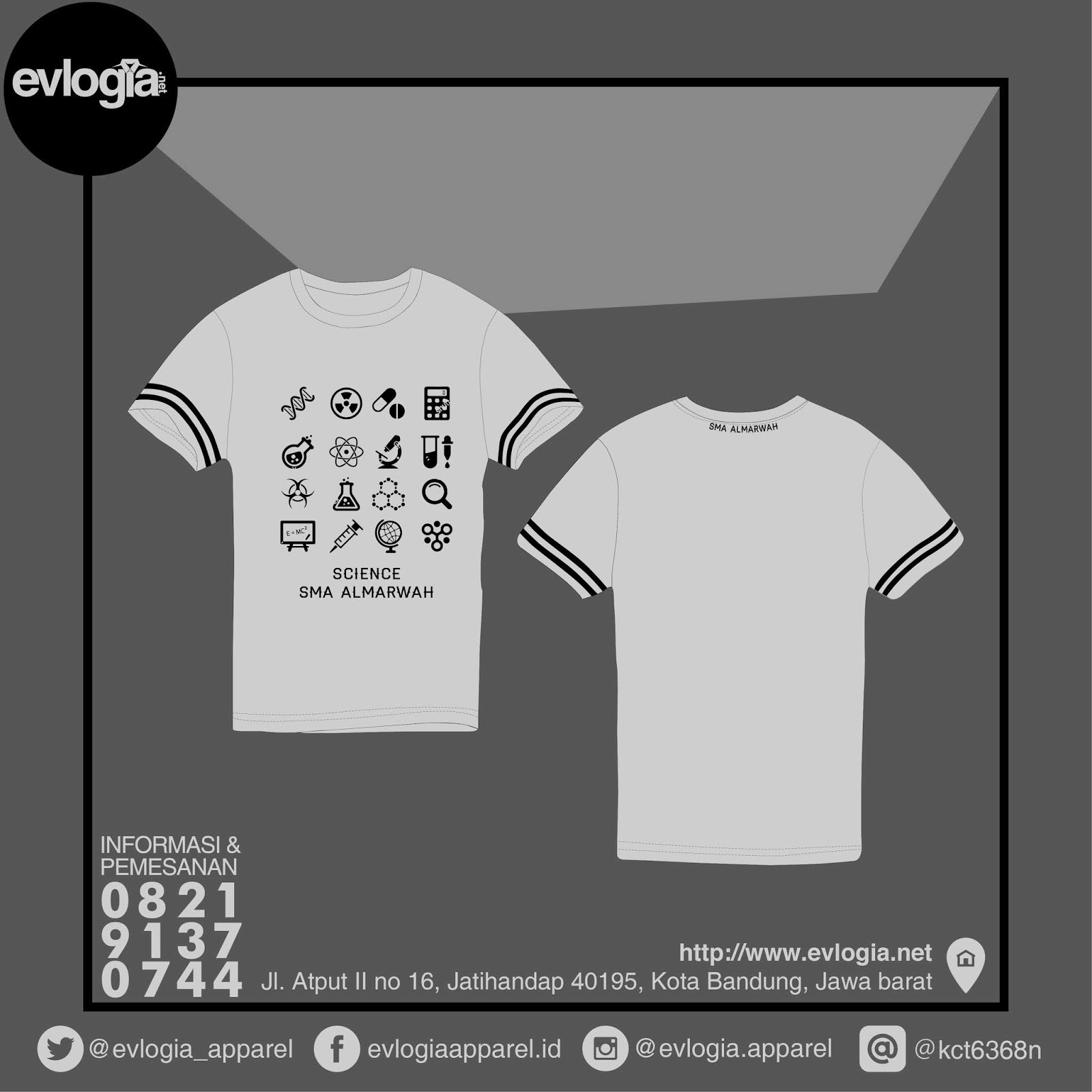 Bikin Kaos / Baju Murah Berkualitas Bandung - Model Anak Sekolah