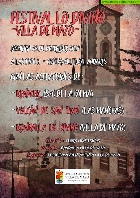 Festival Lo Divino 2019 en Villa de Mazo