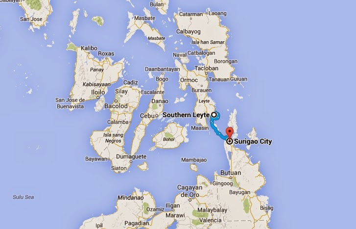 Ferry sinks off Southern Leyte coast