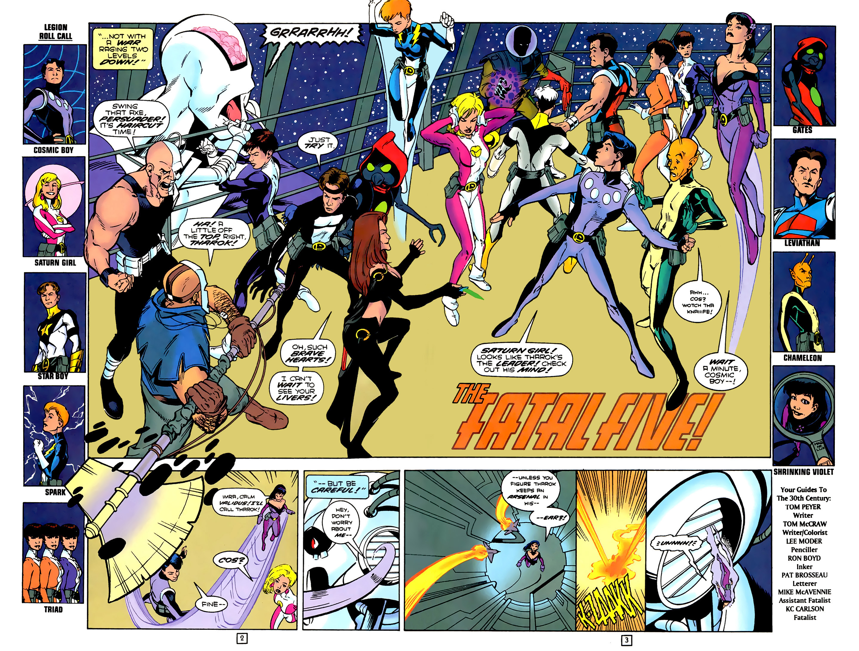 Legion of Super-Heroes (1989) 79 Page 2