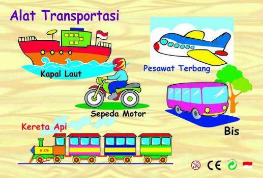Nama Alat Transportasi Dalam Bahasa Arab Beserta Artinya وسائل النقل Harmoni Bahasa