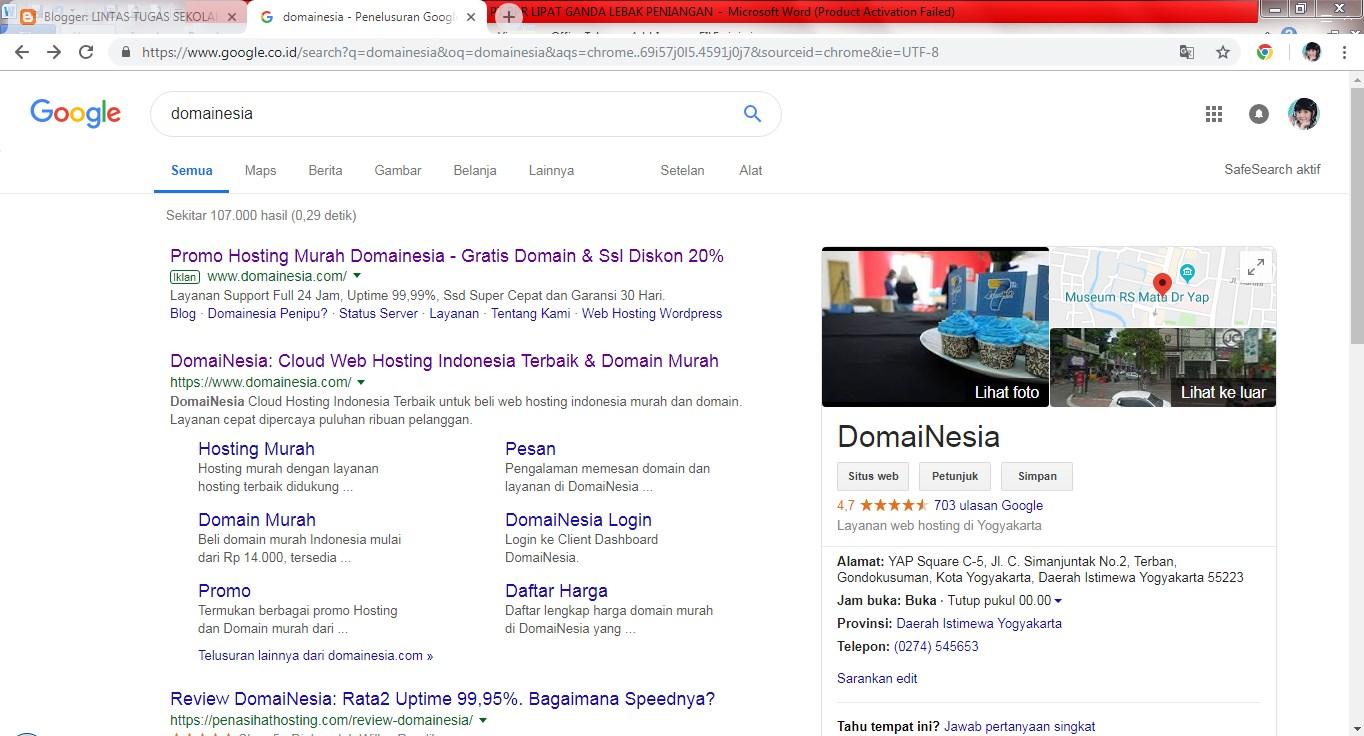 Tutorial Cara Memasang Domain Custom Tld Domainesia Dijamin Mudah