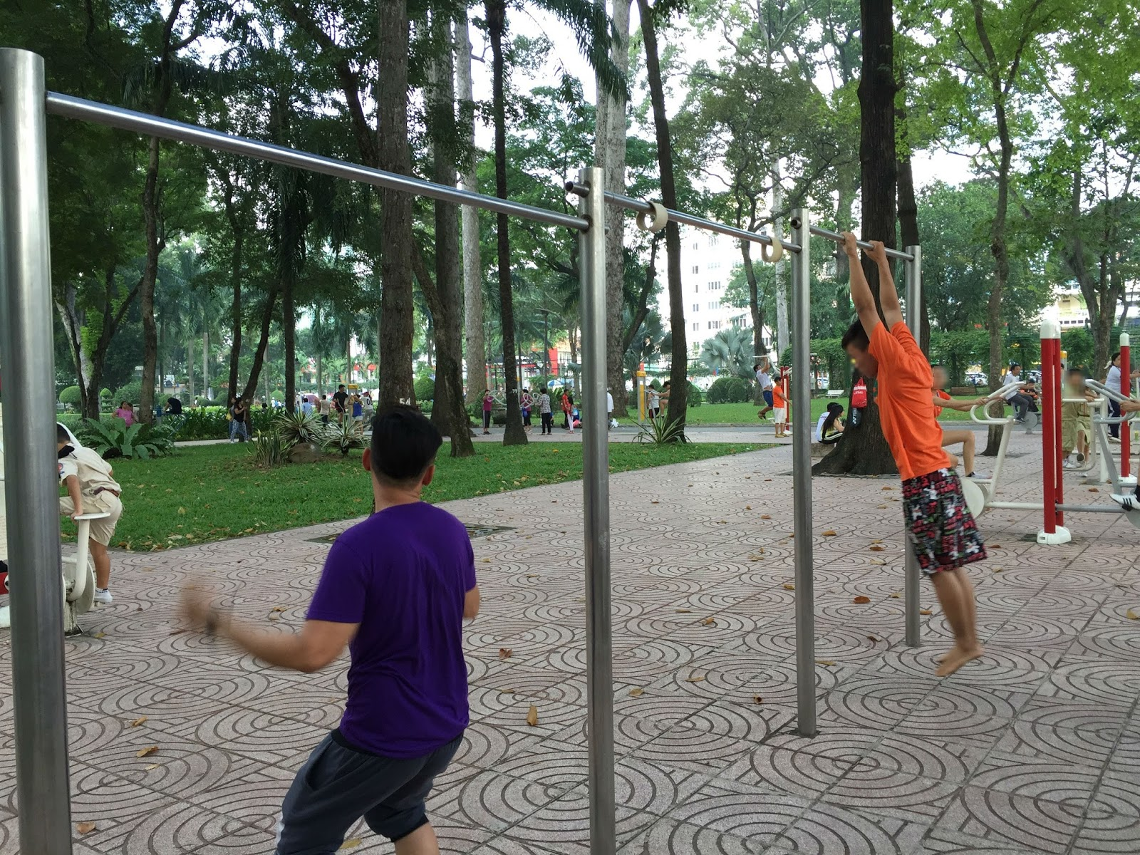 hcmc-vietnam-sport-park ベトナムの公園とアスレチック