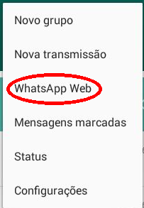 Como desligar o Whats Web