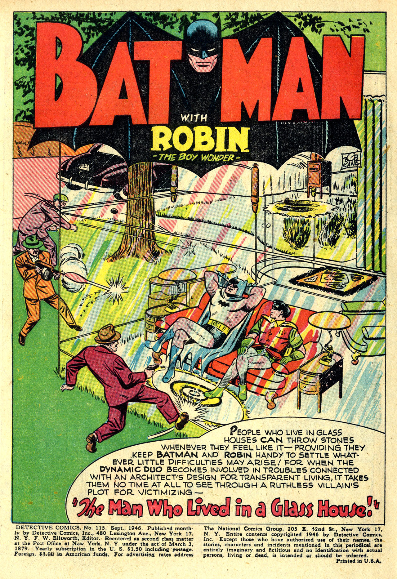 Read online Detective Comics (1937) comic -  Issue #115 - 3