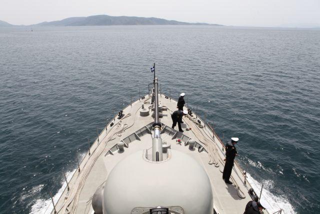 Παρενόχληση ελληνικής πυραυλακάτου από τουρκικό μη επανδρωμένο σκάφος